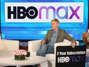 Ellen DeGeneres - Win a 2-Year Subscription to HBO Max!