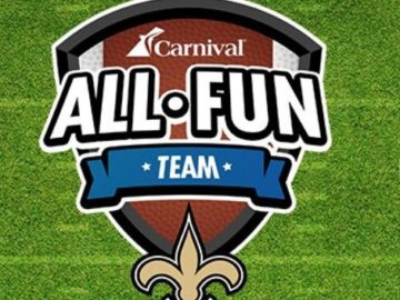 Carnival Cruise Saints Choose Fun Sweepstakes