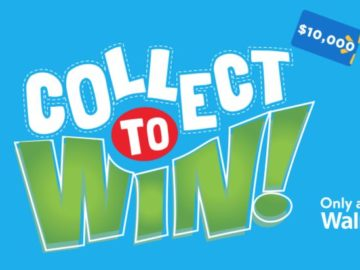 Walmart Collect To Win 2019 (Enter via Purchase at Walmart)