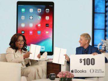 Ellen DeGeneres - Win an iPad Air and a $100 Apple Books Gift Card!