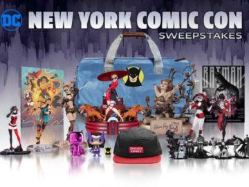 New York Comic Con 2019 Sweepstakes