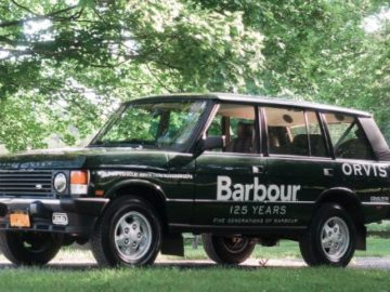 Orvis Barbour Range Rover 125 Year Anniversary Sweepstakes