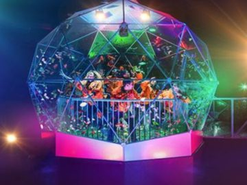 Crystal Maze LIVE Experience Prize Draw Sweepstakes