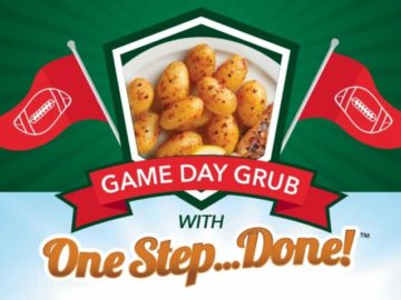 Farm Star Living Game Day Grub Step One Done Sweepstakes