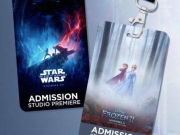 Disney Store Movie Premiere Sweepstakes