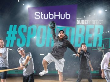 StubHub Sportober Challenge - Enter on Twitter/Instagram