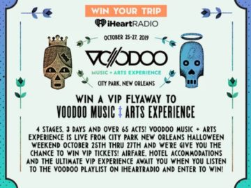 Voodoo Music + Arts Experience Sweepstakes