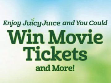 Juicy Juice Movie Tickets Instant Win Game (Entry Code)