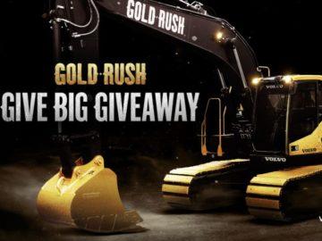 Gold Rush Give Big Giveaway