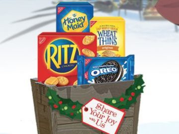 Nabisco Share Your Joy With Us Sweeps and Instant Win (Photo)