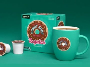 The Original Donut Shop Coffee Pouring Positivity Sweepstakes