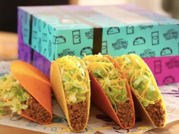 Taco Bell Free Tacos For A Year Sweepstakes