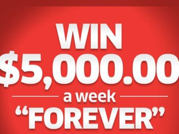 Publisher's Clearing House Win $5,000/Week For Life