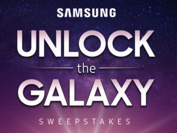 Samsung Unlock the Galaxy Sweepstakes