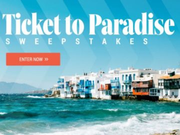 Southern Living Ticket to Paradise $20,000 Sweepstakes