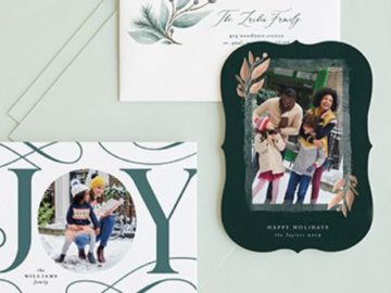 Minted Holiday Giveaway