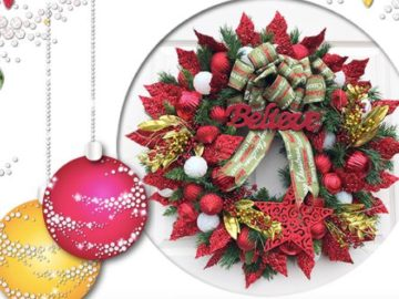 Quacker Factory Home for the Holidays Wreath Sweepstakes