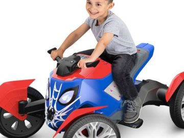 Extra TV Win a Kid Trax Marvel Spiderbike
