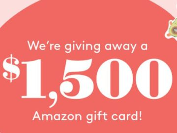 What To Expect $1,500 Amazon Card Giveaway