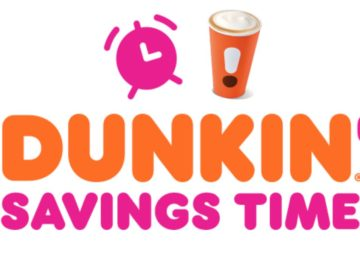Dunkin Fall Savings Time (Purchase/Mail-In)