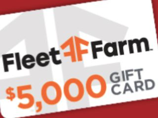 Fleet Farm $5,000 Big Bucks Giveaway