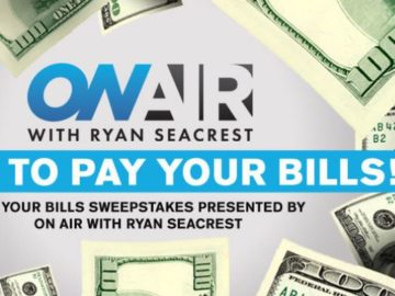 Ryan Seacrest's Pay Your Bills Sweepstakes 2