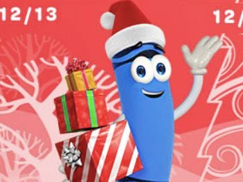 Crayola 12 Days of Giveaways Sweepstakes