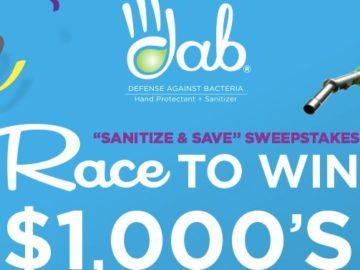 DAB Sanitize and Save Sweepstakes