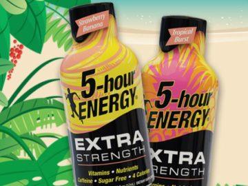 5 Hour Energy Taste of the Tropics National Sweepstakes