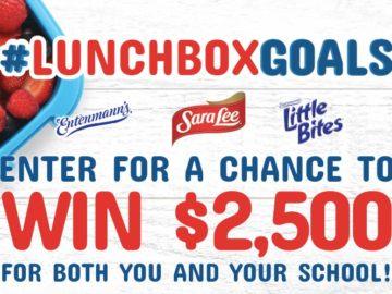 Entenmann's Mom's Return To School #LunchboxGoals Sweepstakes