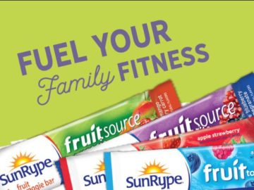 SunRype Fuel Your Family Fitness Sweepstakes