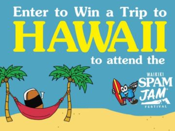 L&L Hawaiian Barbecue Waikiki Spam Jam Festival Sweepstakes (Limited States)