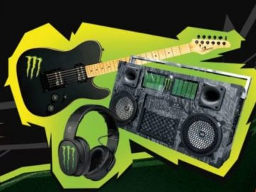 Monster Energy Guitar Sweepstakes