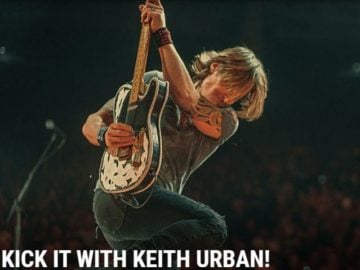 The Boot Kickin' It With Keith Sweepstakes