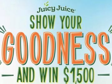 Juicy Juice Show Your Goodness Contest (Photo Upload)