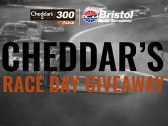 Cheddar's Scratch Kitchen Race Day Giveaway