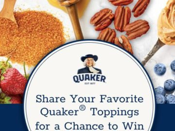 Quaker Oatmeal Favorite Flavors Sweepstakes and Instant-Win Game