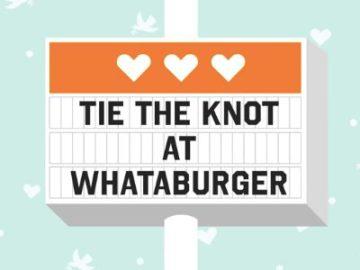 Whataburger's WhataWedding Contest
