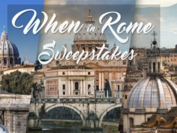 Digital Ivy When in Rome Sweepstakes