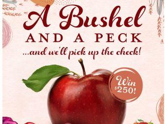 Bushel and a Peck Giveaway