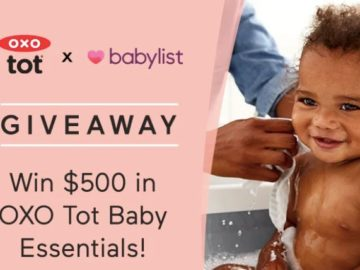 Win a $500 Gift Card from OXO Tot Giveaway