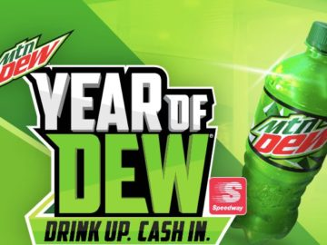 "Mountain Dew ""Drink Up. Cash In."" Sweepstakes at Speedway (Limited States)"