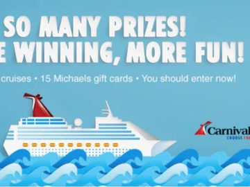 Carnival Cruise Michaels Sweepstakes