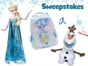 Disney Coloring World's Frozen 2 Sweepstakes
