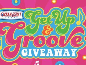 Ocean Mist Get Up & Groove Giveaway