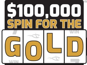 Seaguar $100,000 Spin for the Gold Instant Win Game