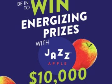 Let's Get Healthy with Jazz Apples Sweepstakes