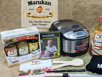 Win a Collection of Treats and Tools from Marukan