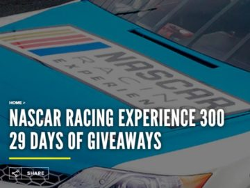 NASCAR Racing Experience 300 Giveaway