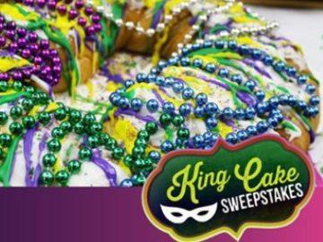 Mardi Gras King Cake Giveaway